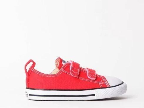 Tênis Converse All Star Kids Vermelho Ck04160002