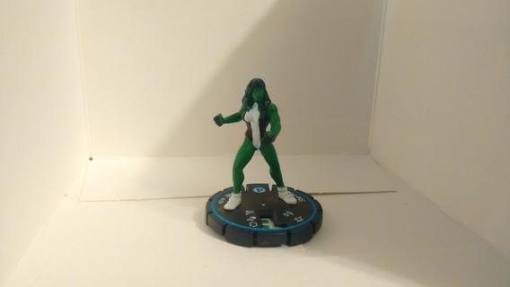Heroclix She-hulk Edición Sin Tarjeta Rareza Azul