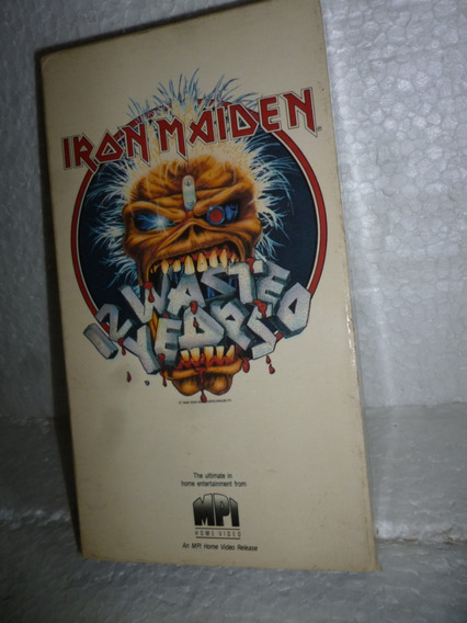 Vhs Iron Maiden - 12 Wasted Years 1988 Usa