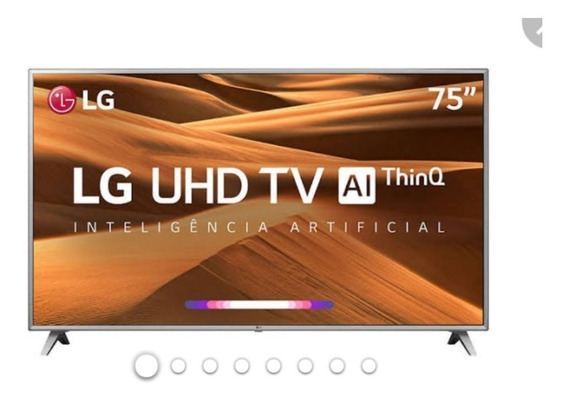 Smart Tv Led 75 Lg 4k 75um7570 Ultra Hd 4k Ips, Hdr Ativo,