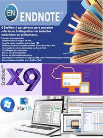 {endnote X9 Pc E Mac} -envio Hoje-