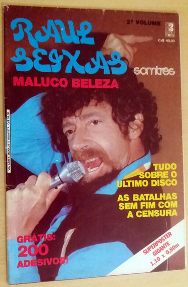 Revista Pôster - Raul Seixas - Somtrês - Raridade