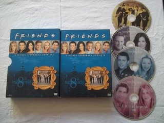 * Dvd - Friends 8 Temporada Completa - Series