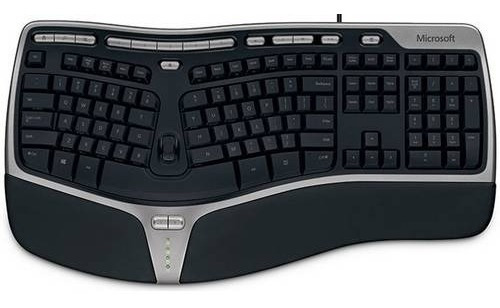 Microsoft Natural Ergonomic Keyboard 4000 B2m-00012 Inglês
