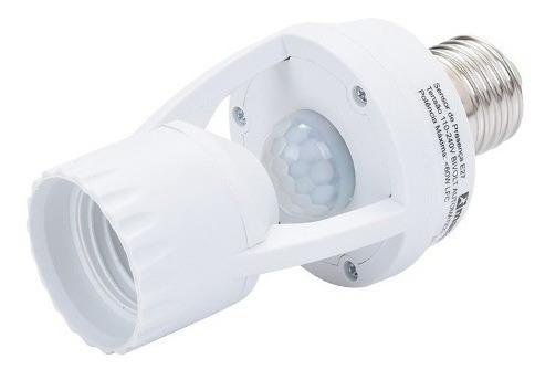 Sensor Presença Com Fotocélula Para Lâmpada Soquete E27