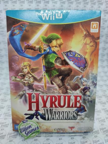 Hyrule Warriors Wii U Edição Nacional Com Luva