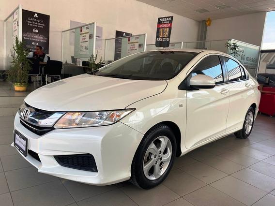 Honda City Lx Std 2017 En Excelentes Condiciones