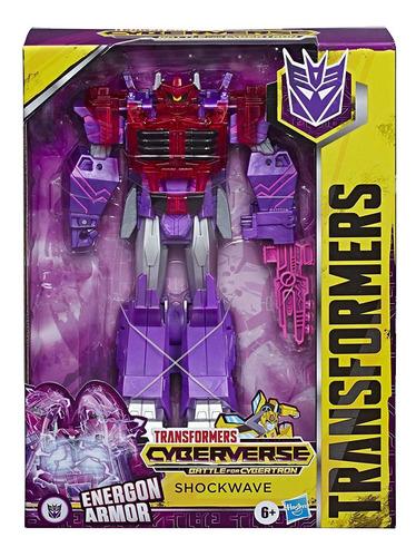 Boneco Shockwave 25cm - Transformers Energon Armor - Hasbro