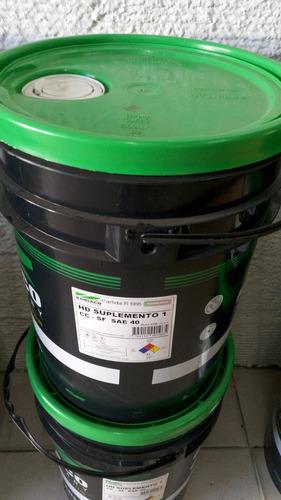 Aceite Hd Suplemento 1 Sae 40 Balde/tacho 20lt. Kansaco