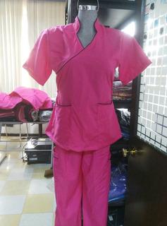 Pijama Qx Mujer Talla Chica Mod H2-60 Cuello Mao(28/30)