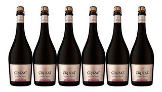 Champagne Cruzat Cuvee Rose Extra Brut X750cc Caja X6