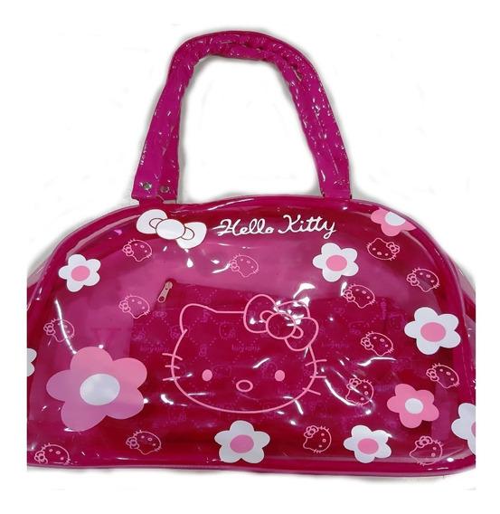 Bolso Hello Kitty Footy Amo A Mis Juguetes