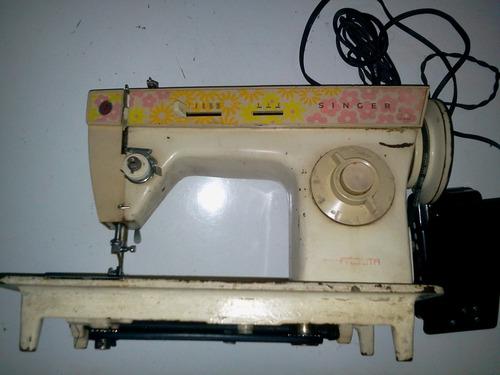 Antiga Maquina De Costura Elétrica Singer
