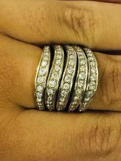 Anel Diamantes H.stern