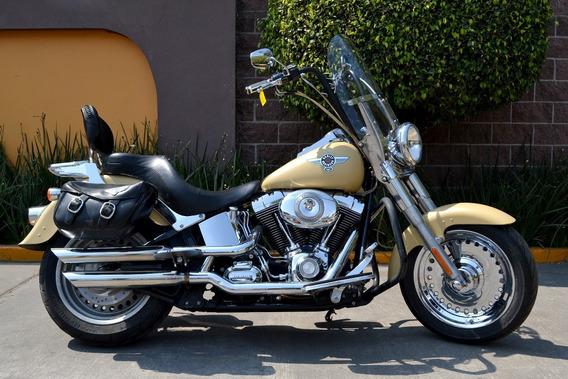 Poderosa Fat Boy 1584cc Harley Davidson Softail Equipada
