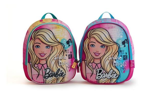 Mochila Barbie Jardin Espalda Escolar Original Cole 2019