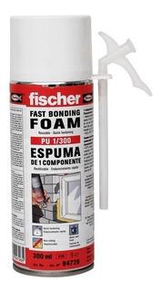 Espuma De Poliuretano Expandido Fischer Pu 1/300 Tubo 300ml