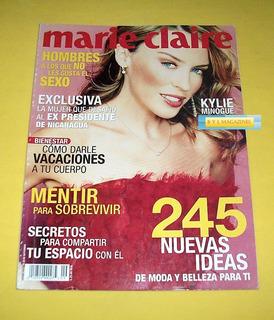 Kylie Minogue Revista Marie Claire Septiembre 2002