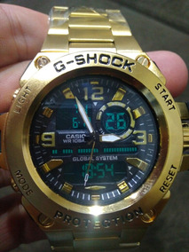 Relógio G-shock Todo Em Aço