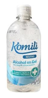 Alcohol En Gel Al 70% Komili 500 Ml Aprobado Anmat