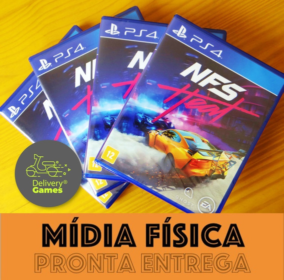 Need For Speed Heat Ps4 Mídia Física Lacrado Pronta Entrega