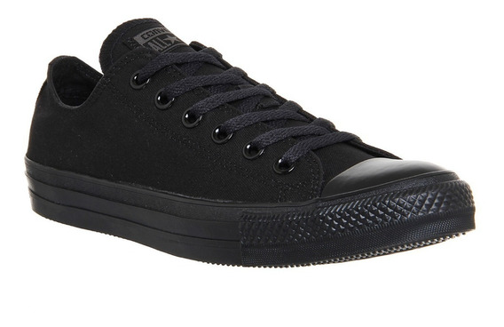 Converse Original All Star Choclo Mono Negro Dama Caballero