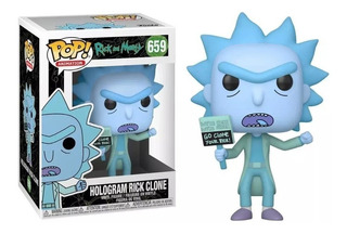 Funko Pop! Rick And Morty - Rick Clone Hologram 659 Original