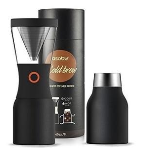 Asobu Coldbrew Portable Cold Brew Coffee Maker Con Un Vacío