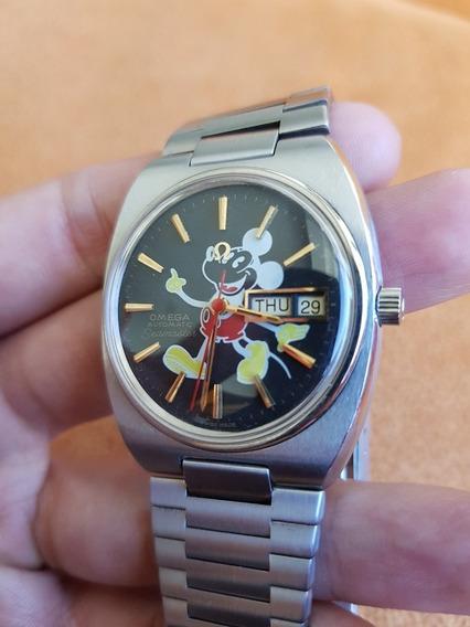Omega Seamaster Raro De Colección Mickey Mouse