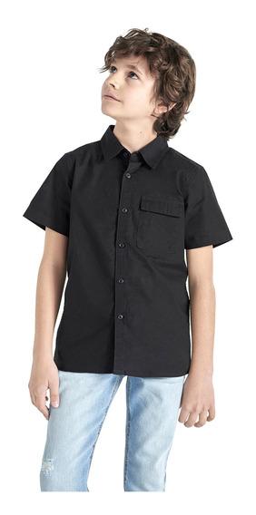 Camisa Manga Corta De Niño C&a (1062214)