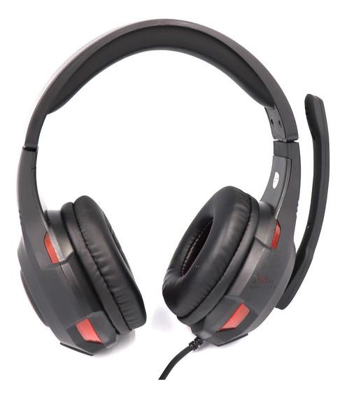 Head Phone + Microfone Usb Fio 2m Jogo Pc Notebook Bq-9800