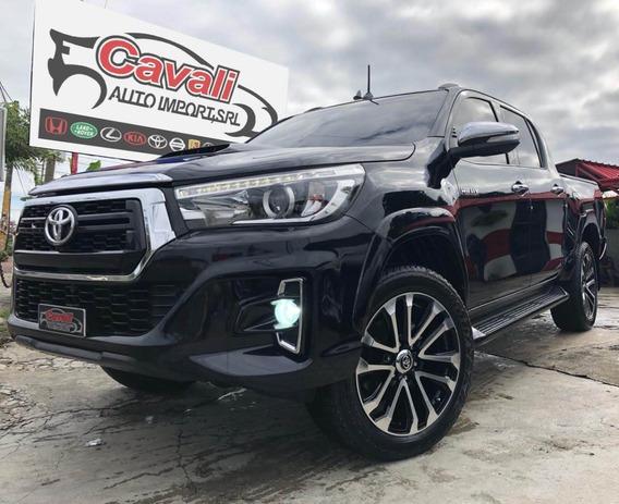Toyota Hilux Srv Negra 2018