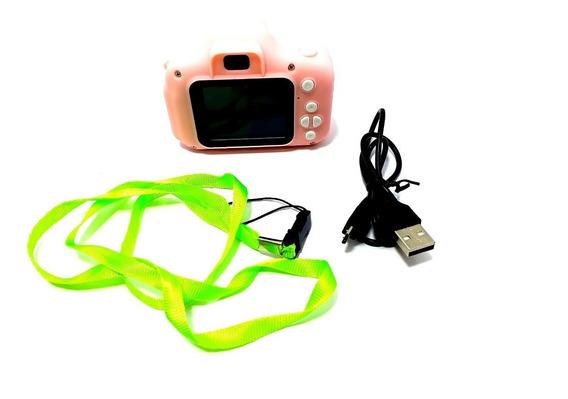 Mini Câmera Digital Infantil Foto E Vídeo Reais Brinquedo