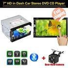 2 Din 7 Hd Touchscreen Car Dvd Player Bluetooth Fm Radio Tv