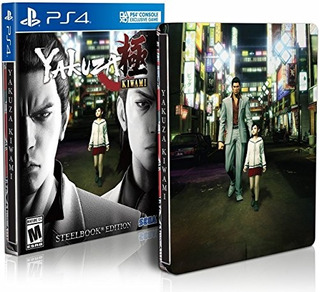 Ps4 Yakuza Kiwami Steelbook Edition