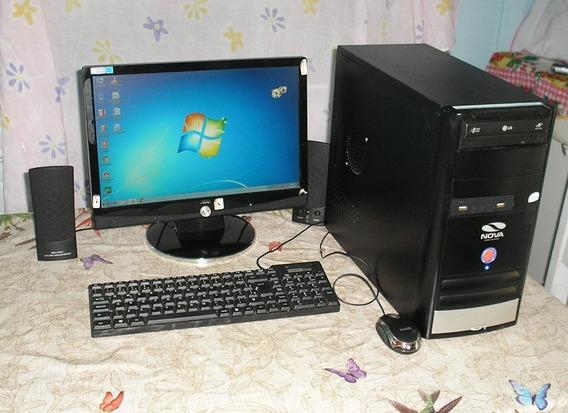 Computador Completo - Usado P/ Escritório E Estudos