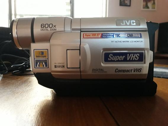 Filmadora Jvc Compacta Vhs Gr-sxm347um Com Bolsa