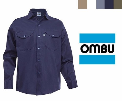 Camisa Ombu De Trabajo Homologado Grafa Talle 50 Al 54