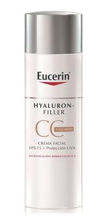Eucerin Hyaluron Filler Cc Cream Color Antiedad 50ml Arrugas