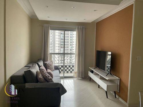 Imagem 1 de 8 de Apartamento 3 Dormitórios, 1 Vaga Ao Lado Do Shopping União, Continental, Osasco. - Ap0831