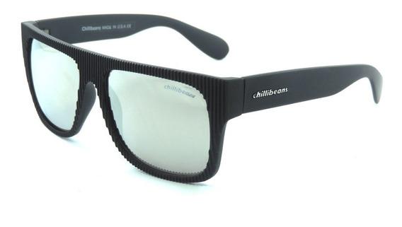 Oculos Masculino Chillibeans Espelhado Com Protecao 400uv