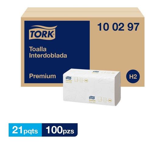Tork Xpress® Toalla Interdoblada Extra Suave 21 Packs De 100 Hojas