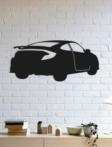 Quadro Decorativo Parede Veículos Honda Civic 01 90cm