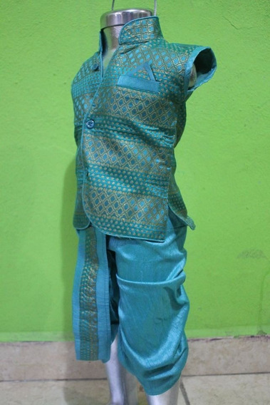 Kurta Hindu, Camisa Mas Dhoti-pantalon Para Niño