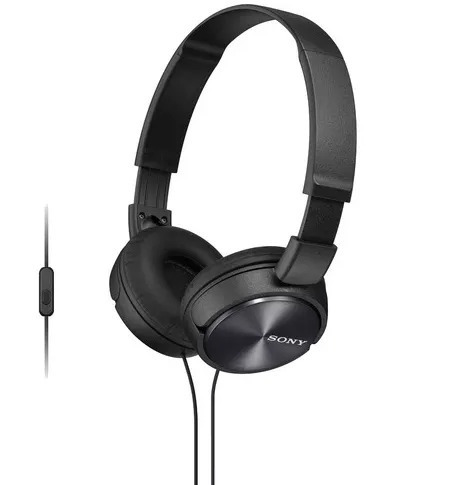 Fone De Ouvido Sony Zx110 Preto Headphone Profissional P2 -