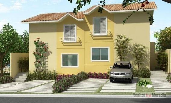 Casa Semi Isolada, Nova E Já Com Piso, Com 03 Dormitórios, (01 Suíte), 02 Vagas Na Granja Viana - Ca0331