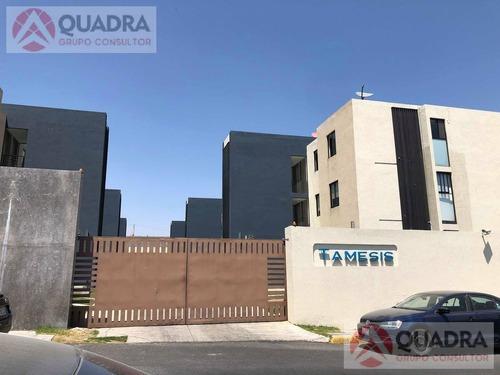 Departamento En Renta O Venta En Residencial Tamesis, Angelopolis, San Andres Cholula, Puebla.