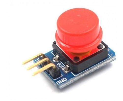 Shield Arduino | Modulo Botão 12x12mm Com Capa Colorida