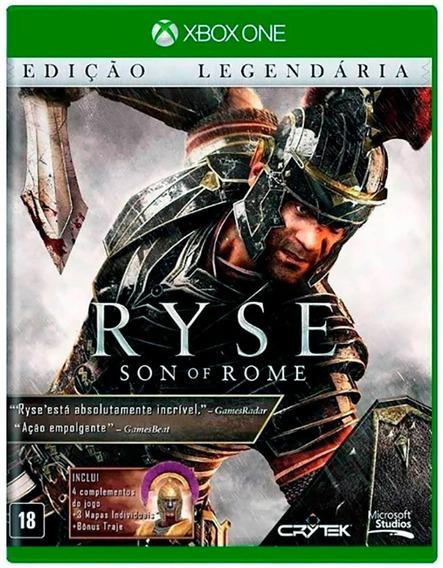 Ryse Son Of Rome Edição Legendária Xbox One Novo Lacrado