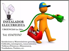 Electricista Matriculado 24hs Zona Sur Bs.as